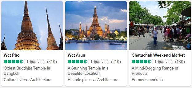 Bangkok Attractions 2
