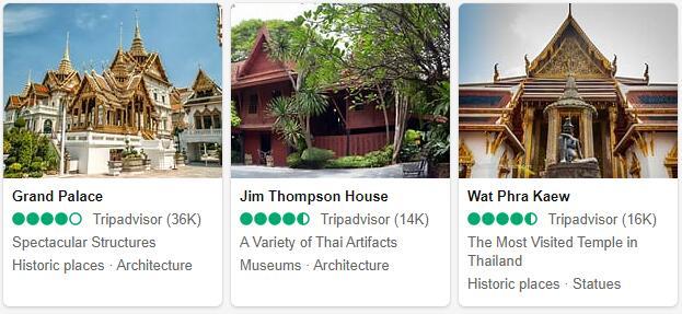 Bangkok Attractions and Tourist