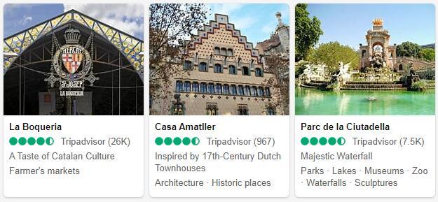 Barcelona Attractions 2