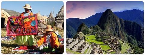 Tourist in Peru