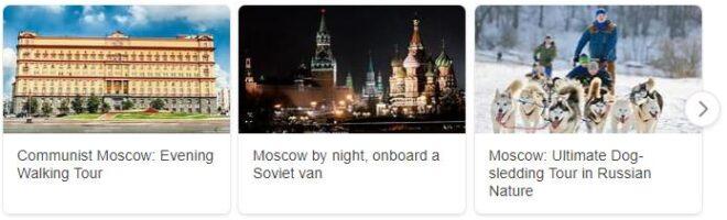 Tourist in Russia