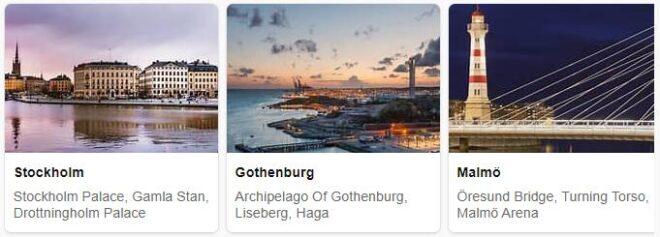 Tourist in Sweden