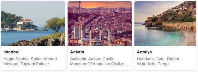 Tourist in Turkey