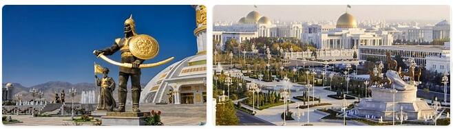 Tourist in Turkmenistan
