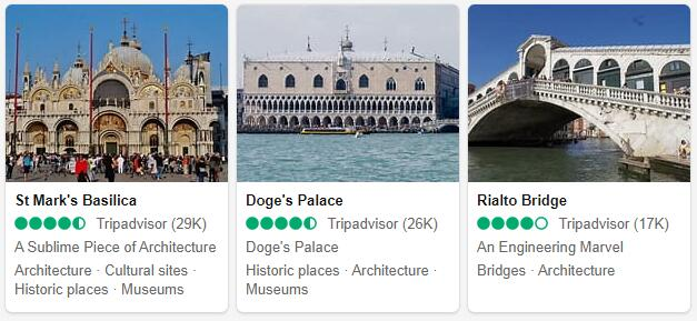 Venice Attractions and Tourist
