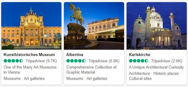 Vienna Attractions 2