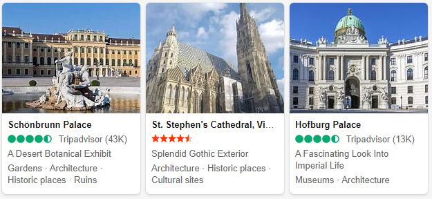 Vienna Attractions and Tourist
