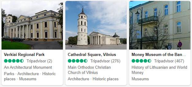 Vilnius Attractions 2