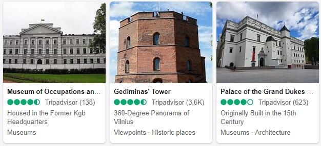 Vilnius Attractions and Tourist