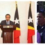 East Timor President