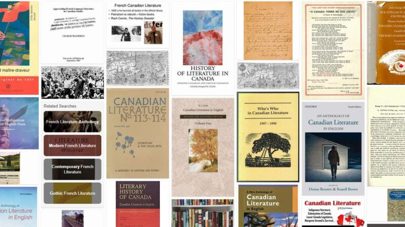 Canadian Literature in French